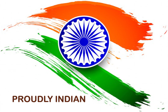 Proudly indian